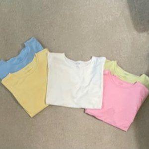 Bundle of 5 Talbots XL Ladies Tee Shirts